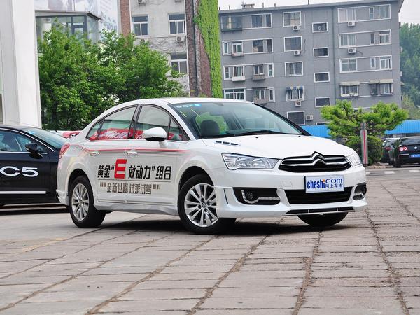 东风雪铁龙  VTS版 1.6L 自动 车辆右侧45度角