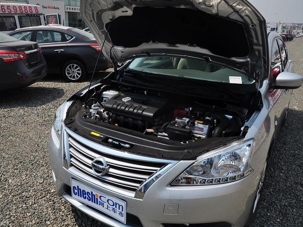 东风日产  1.6LXV CVT 发动机主体特写