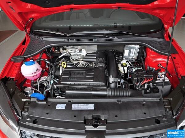 一汽-大众  1.4TSI 自动 发动机标识