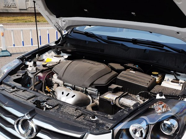 吉利汽车  运动版 2.0L 自动 发动机主体特写