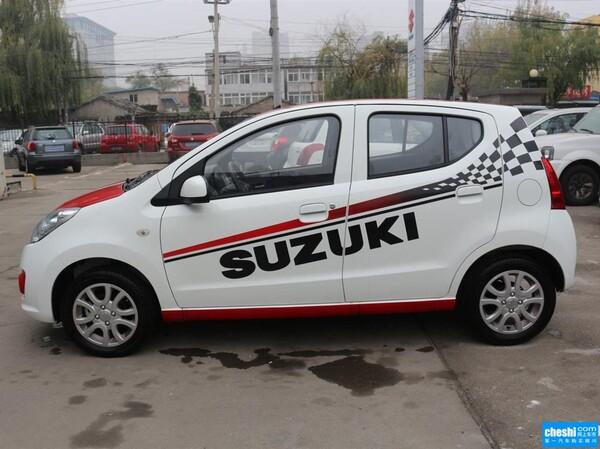 长安铃木  1.0L 自动 车辆左正侧视角
