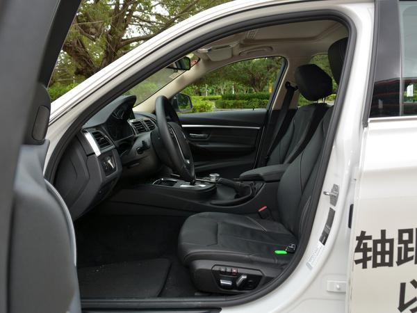 华晨宝马  320Li 驾驶席座椅正视图