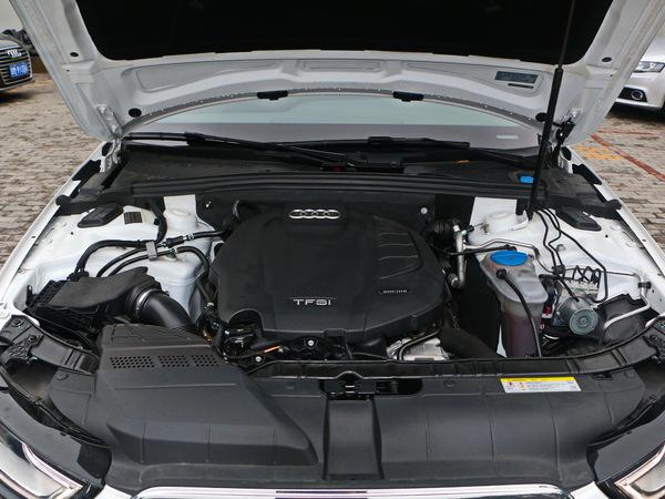 一汽奥迪  45 TFSI quattro 车辆发动机舱整体
