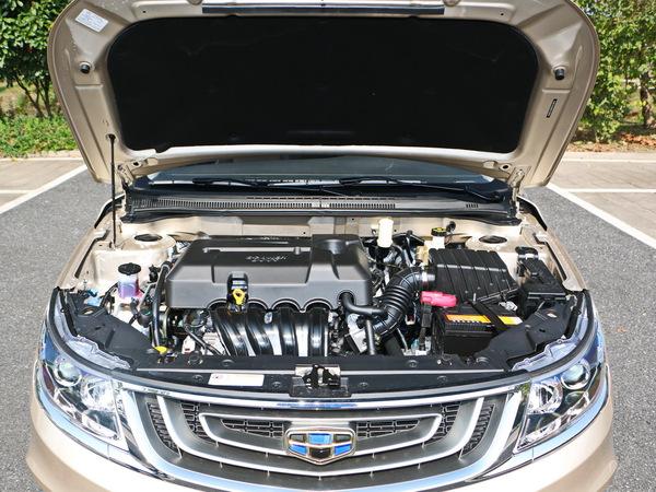 吉利汽车  基本型 发动机舱