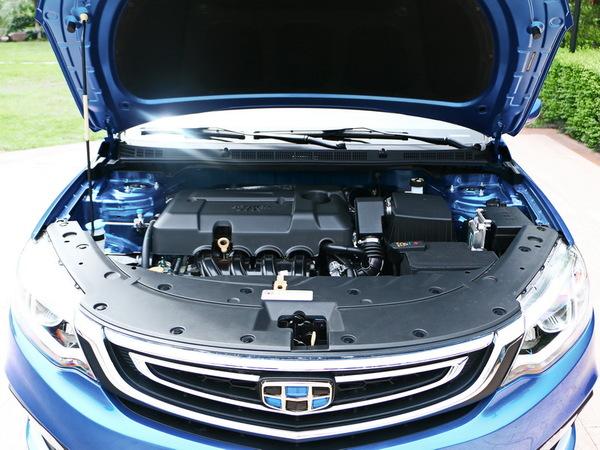 吉利汽车  1.5L 发动机舱
