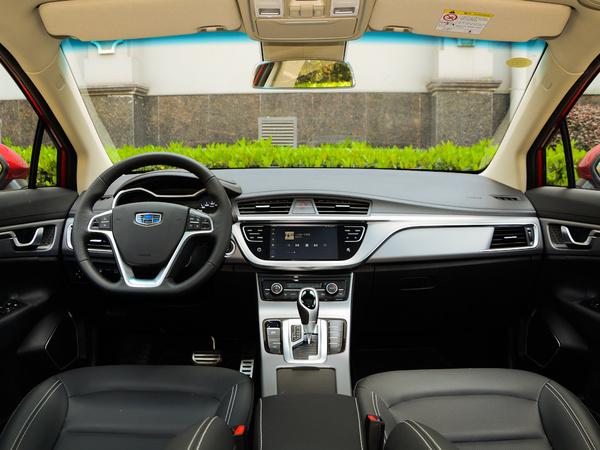 吉利汽车  优雅版 1.8L 大中控全景