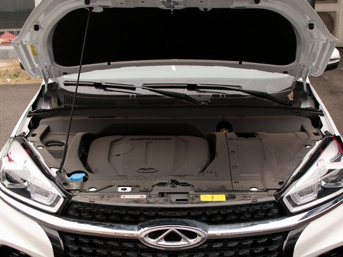 奇瑞汽车  1.5TCI 自动尊贵型 发动机舱