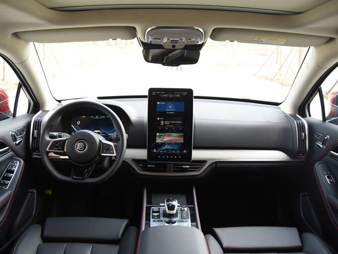 比亚迪  EV600D 四驱智联创世版 大中控全景