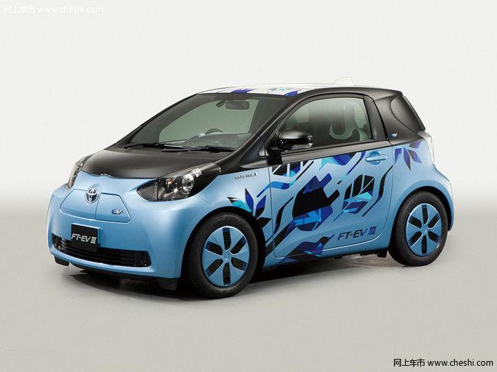 丰田FT-EV3概念车