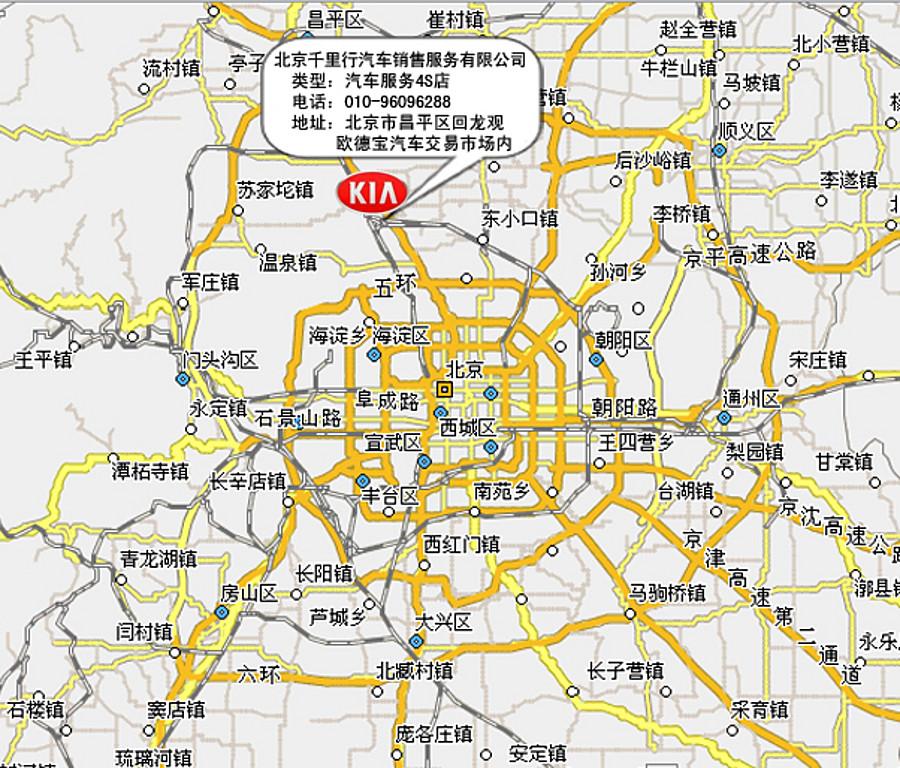 北京市地图高清版图片