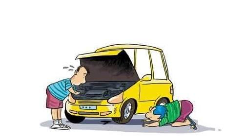 玩轮胎卡通图片