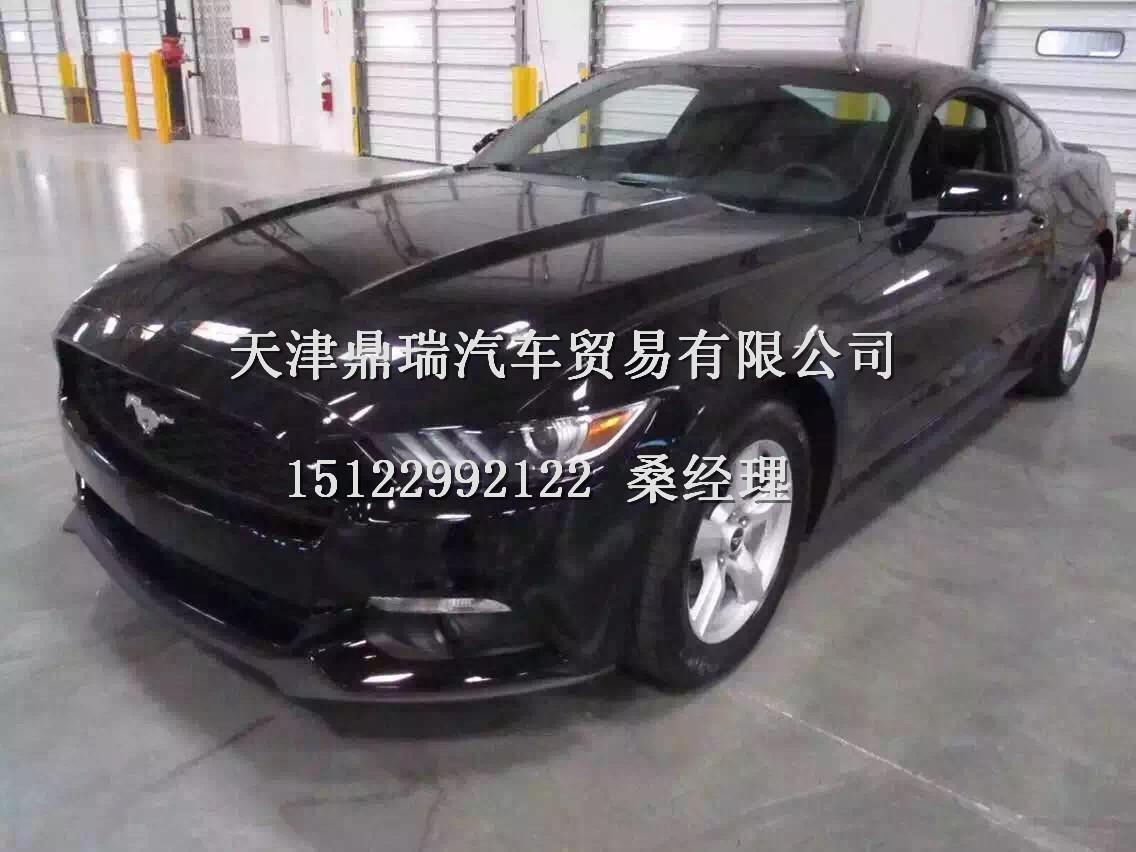 15款福特野马2.3T宝石红现车优惠促销中高清图片