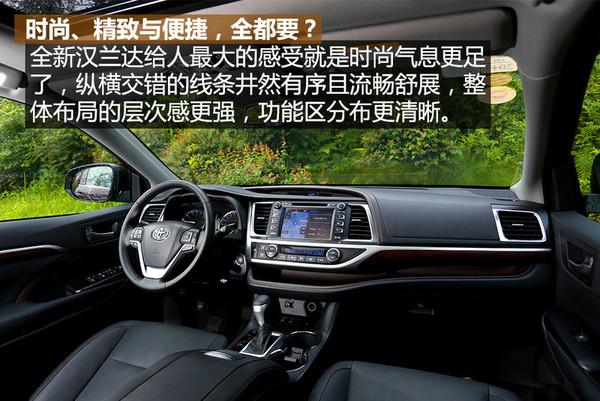 丰田汉兰达7座SUV多少钱 汉兰达两驱2.0高清图片