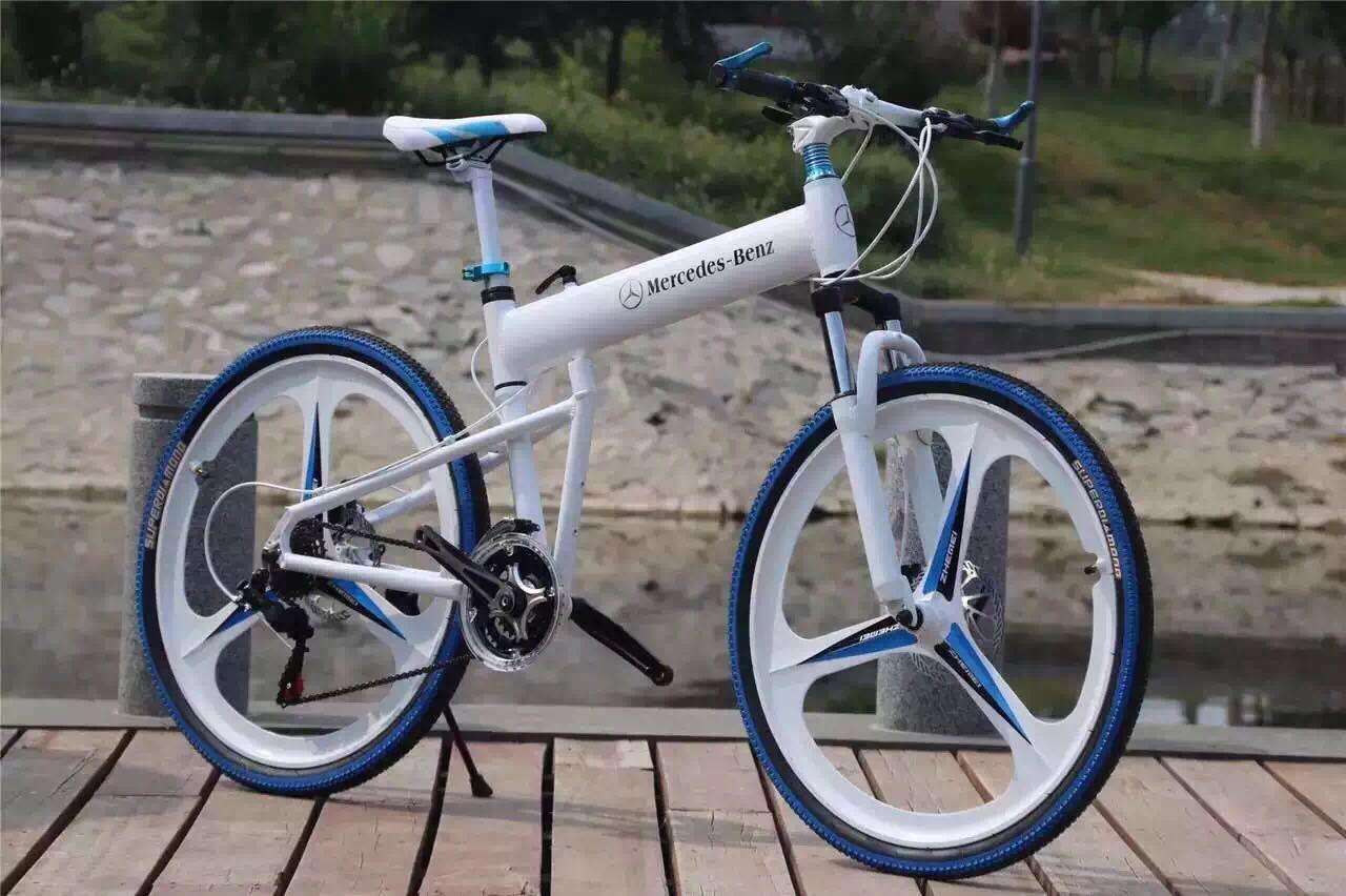 奔驰自行车图片