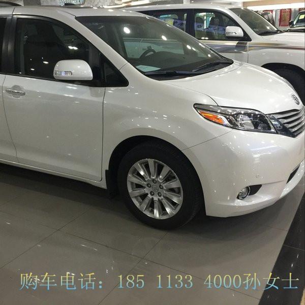 16款丰田塞纳七座商务车分期贷款改装高清图片