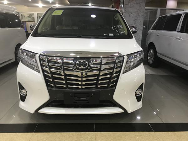 2017款丰田埃尔法 坐享尊贵 驾驭未来!