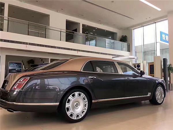 2017款宾利慕尚加长版6.8l高奢座驾皇家气质