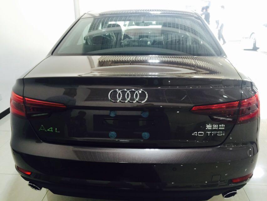 2017款奥迪A4L降价12万 全国最低多少钱 -奥迪A4L高清图片