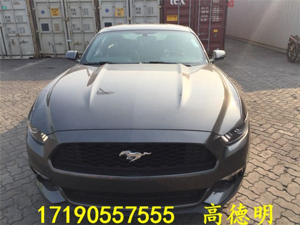 17款福特野马2.3 豪华轿跑车7月最新价格_Mu