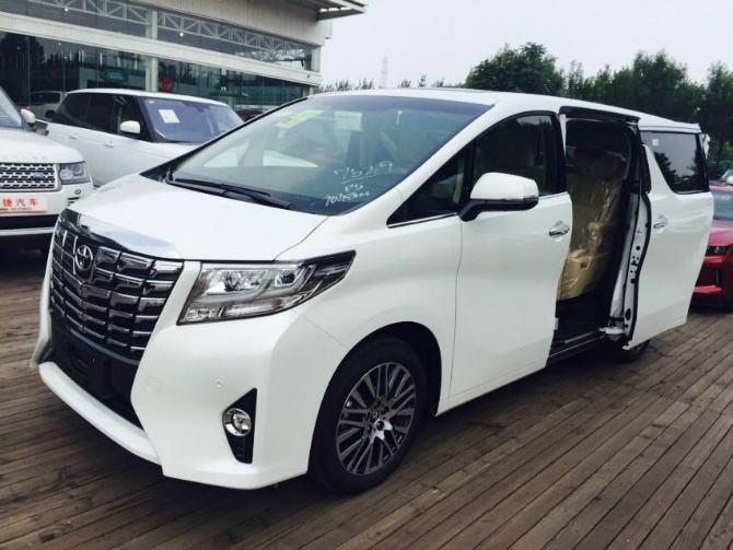丰田阿尔法商务车报价及图片 进口15万丰田商务车7座图片