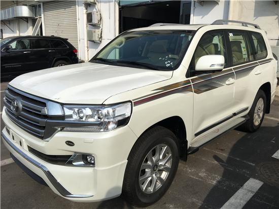 2018款丰田酷路泽4000 港口现车优势解析
