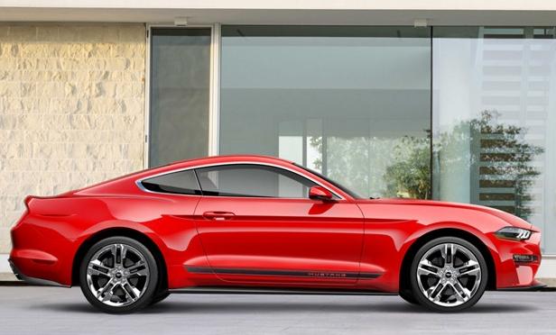 美规版18款福特野马新改款即将上市功率