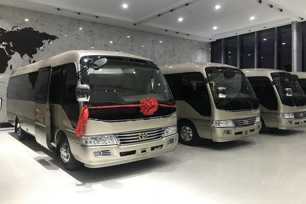 丰田考斯特12座价格 考斯特12座最低售价