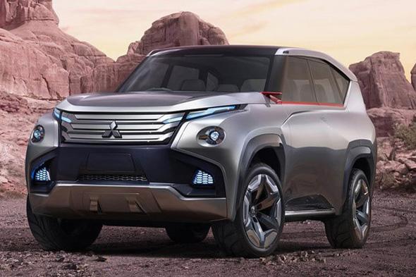 广汽三菱将推混动SUV高清图片