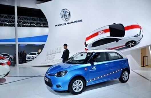 MG汽车中国刮起英伦印象风高清图片