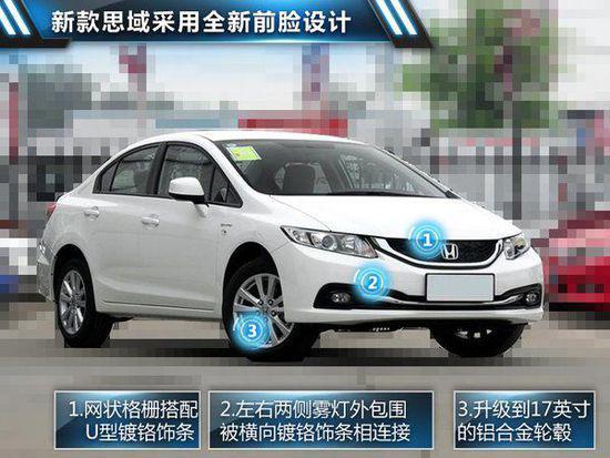 东风本田新思域今日上市 预售12万元起高清图片