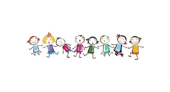 新疆儿童矢量图片