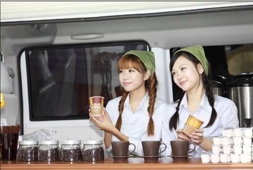东南展出两款全新设计希旺车型希旺高端轿式化微客与希旺餐饮高清图片