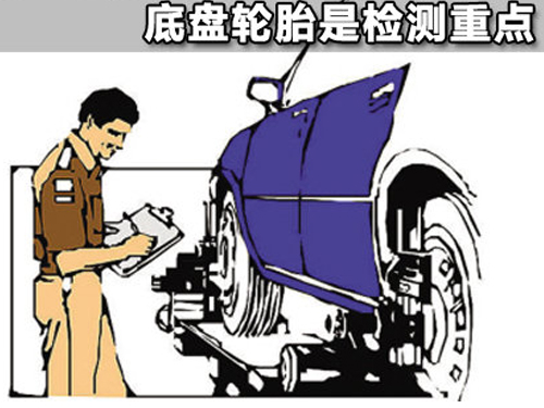 节后车辆维修保养 底盘轮胎是检测重点