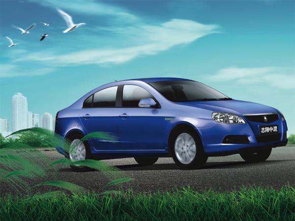 志翔油电中度混合动力轿车产业化开发在杰勋混合动力汽车高清图片