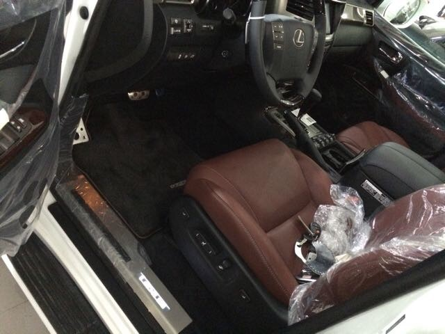 雷克萨斯570现车优惠 2015款5.7售全国高清图片