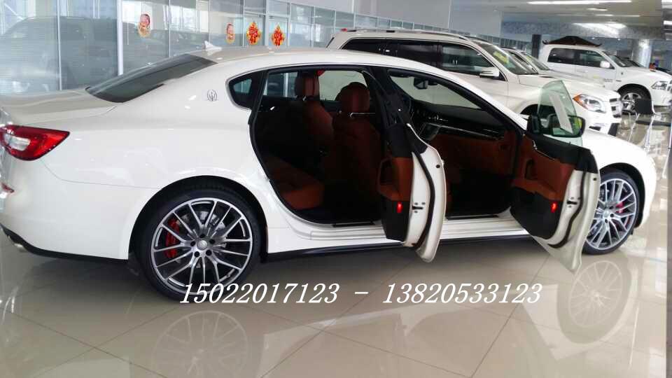 美规玛莎拉蒂总裁3.0轿跑 天津港现车全 高清图片