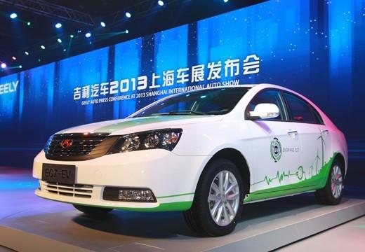 吉利帝豪EC7电动版 明年国内外同步上市 -经典帝豪三厢高清图片
