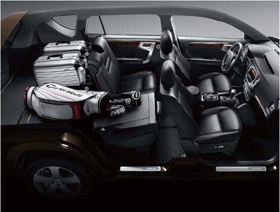 首款主打大7座中大型SUV 吉利豪情上市 -新帝豪高清图片