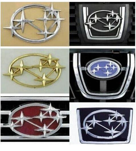 标志 斯巴鲁/斯巴鲁的标志代表着五个独立的公司一起组成了现今的斯巴鲁。