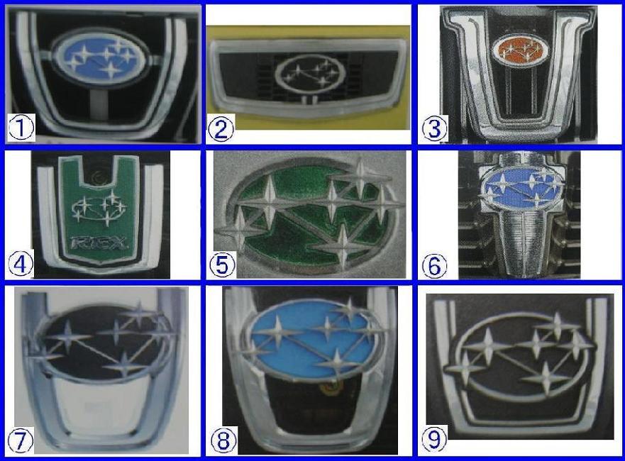 斯巴鲁汽车标志发展史 箛独愙 箛独愙高清图片