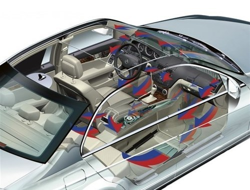 帝豪EC7自动恒温空调省油与降温两兼具 -经典帝豪三厢高清图片
