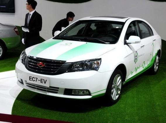 13上海车展 吉利帝豪发布EC7电动版 -经典帝豪三厢高清图片
