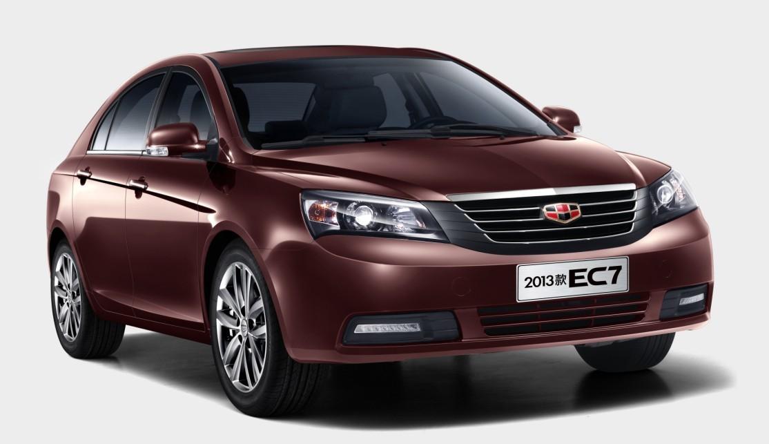 帝豪ec7一流品质 树立a级车价值新典范