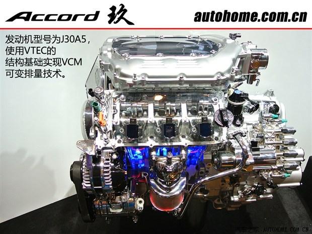 那款j30a5发动机并没有edt技术,事实上本田在那时还没有推广edt的概念图片