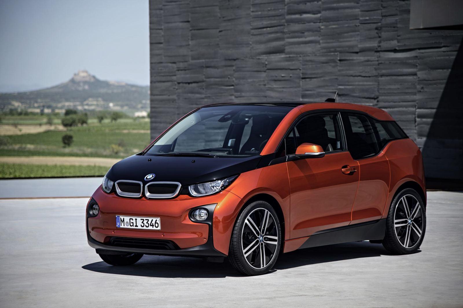 纯电动汽车BMW i3即日起接受预订高清图片