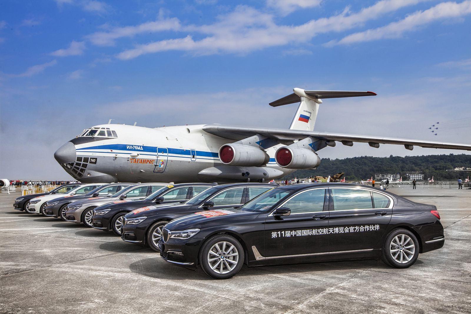 bmw成為中國航空航天博覽會合作伙伴圖片