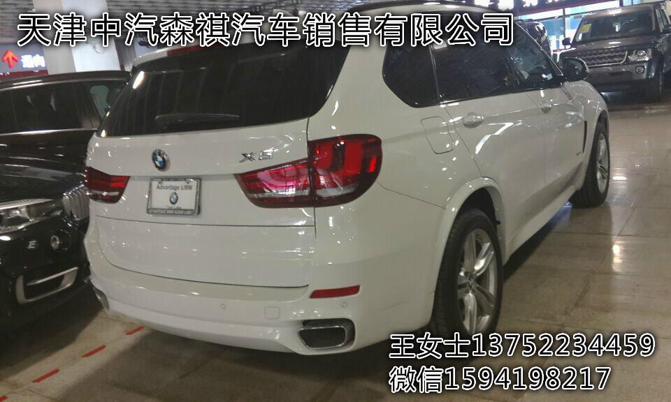 美规版宝马X5M运动版19轮毂方尾喉现车高清图片