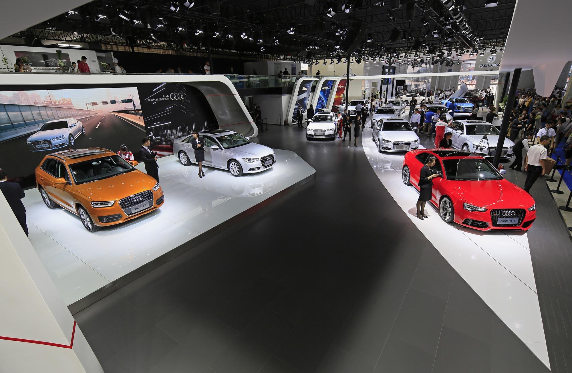 2013年长春车展,一汽-大众奥迪不仅为东北区的广大消费者带来丰富
