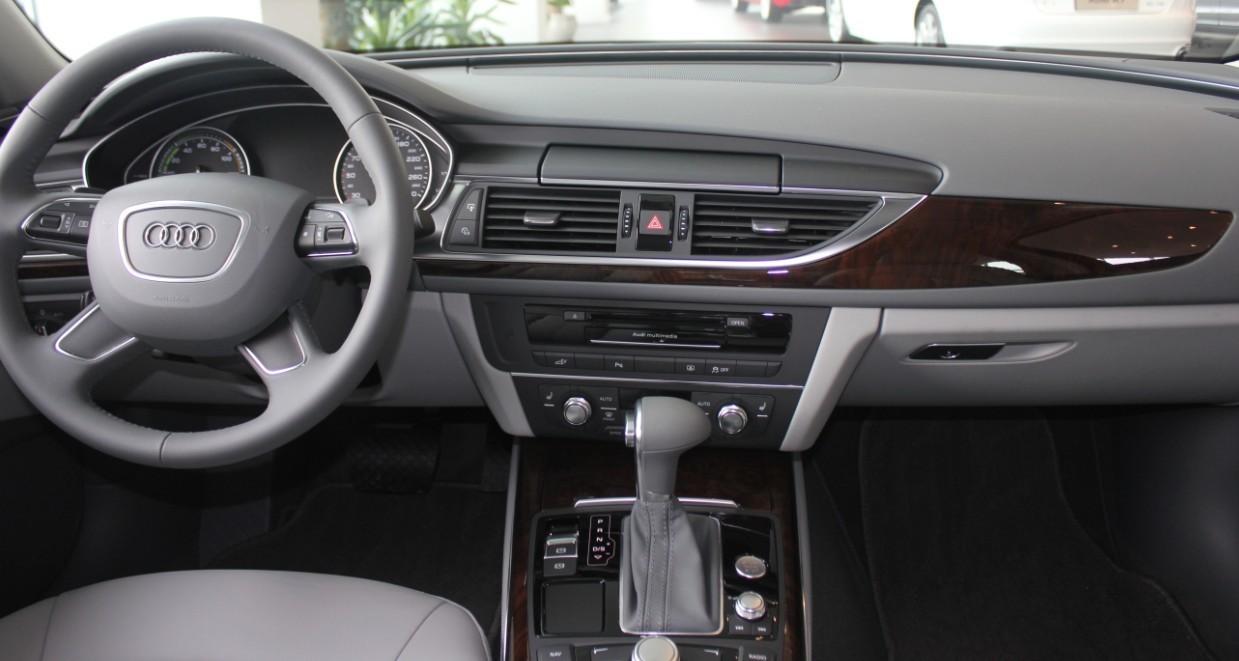 高性能低油耗奥迪A6混合动力版现已到店高清图片