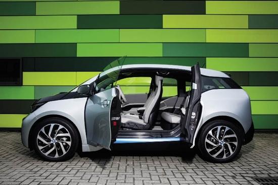 【宝马i3环保设计理念依然的体验驾驶-淄博圣cad调成的怎么黑色底色把图纸图片